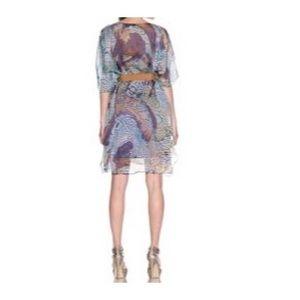 Badgley Mischka Dresses - Badgley Mischka Silk Dress